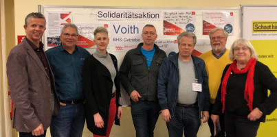 Blaichacher SPD unterstützt Betriebsrat Voith für den Standorterhalt in Sonthofen