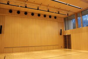 Veranstaltungssaal und Sporthalle in einem