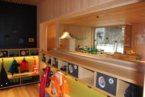 angemessene Räume für den Kindergarten